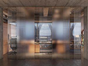 Porte in vetro vetro satinato trasparente o temperato - Porte scorrevoli tutta altezza ...