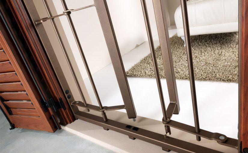 Grate di sicurezza la soluzione per finestre porte e - Sicurezza porta finestra ...